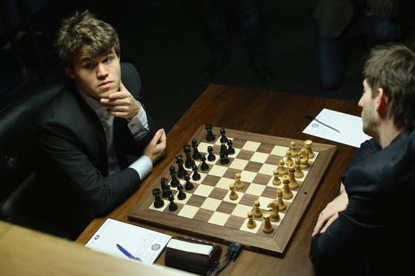 Chess Masters Compete in World Championship