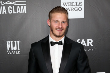 Alexander Ludwig Arrivals at amfAR's Inspiration LA Gala — Part 2
