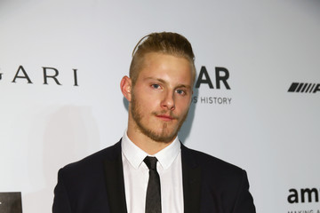 Alexander Ludwig amfAR Milano 2014 - Arrivals - Milan Fashion Week Womenswear Spring/Summer 2015