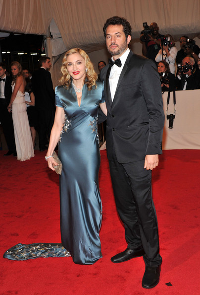 "Madonna and Guy Oseary attend the ""Alexander McQueen: Savage Beauty"" Costume Institute Gala at The Metropolitan Museum of Art on May 2, 2011 in New York City."