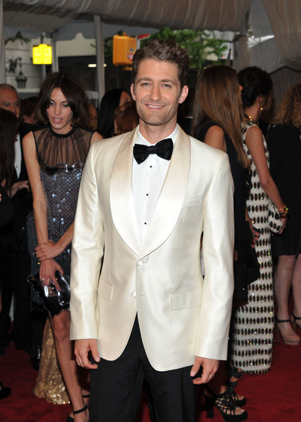 "Actor Matthew Morrison attends the ""Alexander McQueen: Savage Beauty"" Costume Institute Gala at The Metropolitan Museum of Art on May 2, 2011 in New York City."