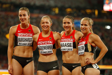 Alexandra Burghardt 15th IAAF World Athletics Championships Beijing 2015 - Day Eight