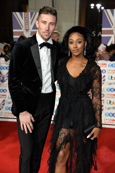 Pride Of Britain Awards 2019 - Red Carpet Arrivals [suit,carpet,red carpet,formal wear,dress,tuxedo,hairstyle,event,flooring,fashion,red carpet arrivals,r,alexandra burke,pride of britain awards,england,london,grosvenor house hotel]