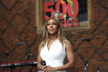Alexandra Burke The Duchess Of Cornwall Attends The 500 Words Final
