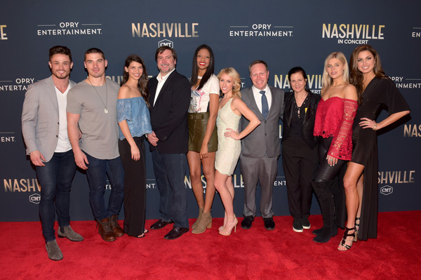 "CMT's ""Nashville"" In Concert - Final Season Celebration [red carpet,event,premiere,carpet,flooring,award ceremony,senior vice president of creative,senior vice president of music strategy,senior vice president communications,rachyl degman,kerry degman,jackson boyd,nashville,cmt,season celebration,concert final season celebration]"