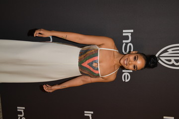 Alexandra Shipp The 2019 InStyle And Warner Bros. 76th Annual Golden Globe Awards Post-Party - Red Carpet