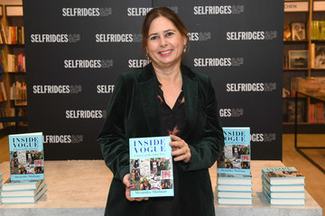 Alexandra Shulman Alexandra  Shulman Signs Copies Of Her Latest Book 'Inside Vogue: A Diary Of My 100th Year'