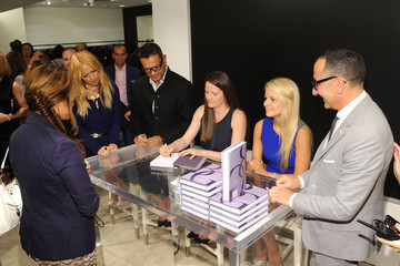 Alexandra Vidal Bergdorf Goodman Celebrates Fashion's Night Out