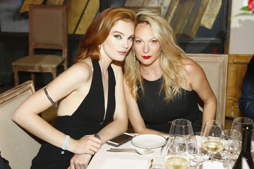 Alexina Graham amfAR Paris Dinner 2017 - Dinner