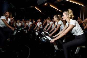 Alexina Graham Victoria's Secret Angel Cycle To End Cancer