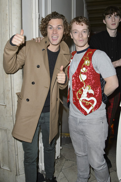 Photo of Alfie Allen & his friend actor  Finn Jones - Childhood