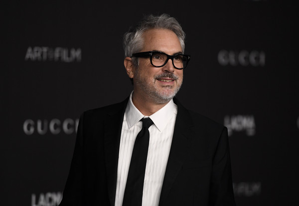 2019 LACMA Art And Film Gala Presented By Gucci - Arrivals [eyewear,suit,white-collar worker,glasses,event,businessperson,vision care,formal wear,facial hair,official,arrivals,alfonso cuaron,los angeles,california,gucci,lacma art film gala,lacma 2019 art film gala]
