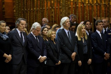 Alfonso Diez Alfonso Martinez de Irujo y Fitz-James Stuart Funeral Service Held for the Duchess of Alba