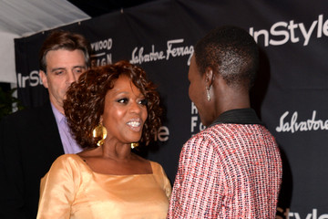 Alfre Woodard Lupita Nyong'o Arrivals at the TIFF HFPA/InStyle Party