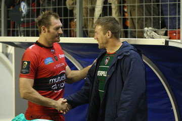Ali Williams Brad Thorn RC Toulon v Leicester Tigers - European Rugby Champions Cup