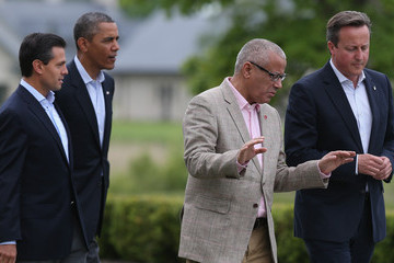 Ali Zeidan World Leaders Meet at G8 Summit