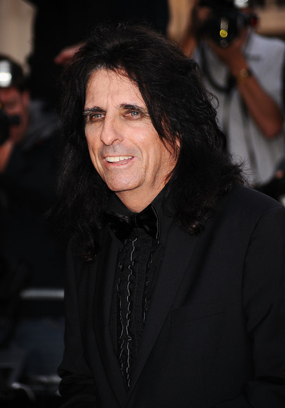 Alice Cooper Alice Cooper arrives at the GQ Men of the Year Awards ...