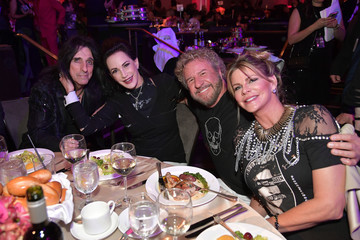 Alice Cooper Pre-GRAMMY Gala And GRAMMY Salute To Industry Icons Honoring Clarence Avant – Inside