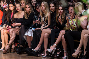 Alice Dellal Day 4 - Front Row - LFW FW15