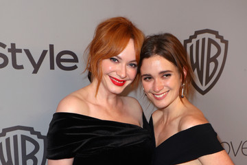 Alice Englert The 2018 InStyle and Warner Bros. 75th Annual Golden Globe Awards Post-Party - Red Carpet