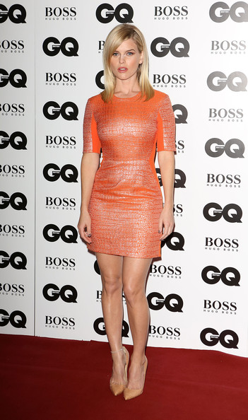 Actress Alice Eve attends the 2018 GQ Men Of The Year