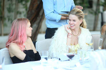 Alice Eve Rosetta Getty and Orchard Mile Host a VIP Dinner for Desert X in Palm Springs