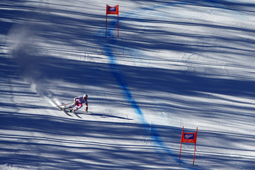 Alice MCKennis Audi FIS Alpine Ski World Cup - Women's Downhill Training