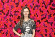 Actress Victoria Justice attends the Alice + Olivia By Stacey Bendet presentation during New York Fashion Week at The Angel Orensanz Foundation on February 11, 2019 in New York City.