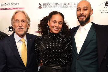 Alicia Keys Neil Portnow 60th Annual GRAMMY Awards - Producers And Engineers Wing 11th Annual GRAMMY Week Event Honoring Swizz Beatz And Alicia Keys