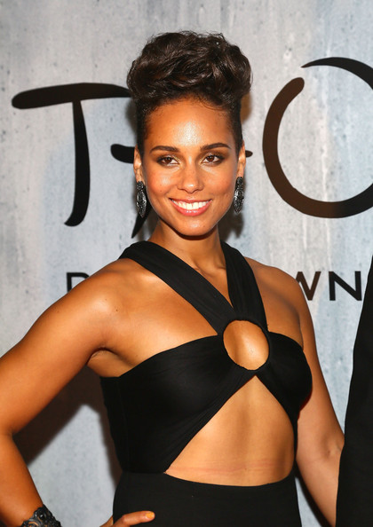 Alicia Keys - TAO Downtown Grand Opening NYC