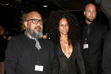 Alicia Keys The 59th GRAMMY Awards -  Backstage