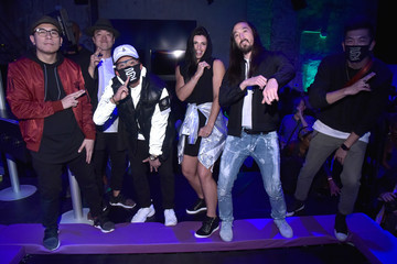 Alicia Napoleon Steve Aoki Hosts ASICS Jump Room in NYC to Celebrate I Move Me Brand Movement