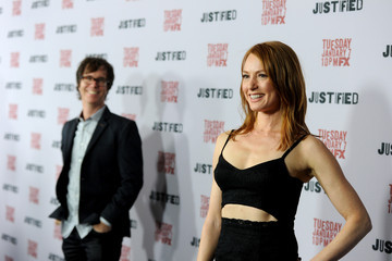 Alicia Witt Ben Folds Arrivals at the 'Justified' Season 5 Premiere — Part 2