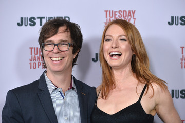 Alicia Witt Ben Folds Arrivals at the 'Justified' Season 5 Premiere