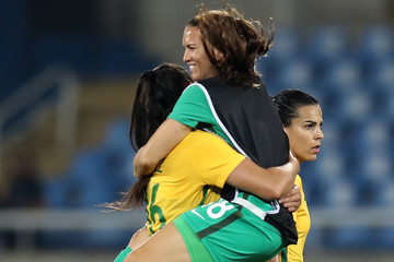 Aline Brazil v Sweden: Women's Football - Olympics: Day 1