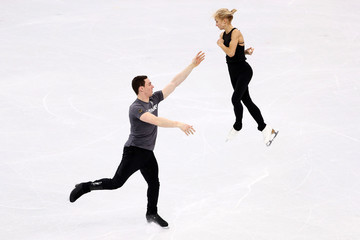 Aliona Savchenko Bruno Massot Previews - Winter Olympics Day -1