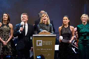 Alison Balsom Darcey Bussell Switches on the Regent Street Christmas Lights