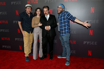 Alison Brie Paul F. Tompkins #NETFLIXFYSEE Animation Panel Featuring 'Big Mouth' And 'BoJack Horseman' - Arrivals