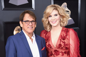 Alison Krauss Ron Browning 60th Annual GRAMMY Awards - Red Carpet