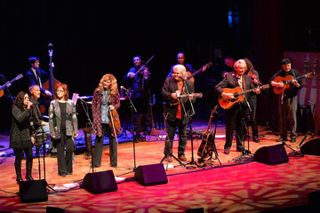 Alison Krauss Ricky Skaggs Performs in Nashville