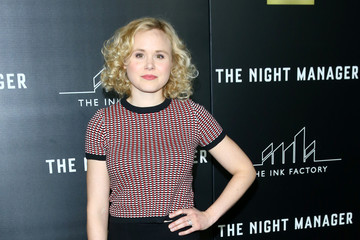 Alison Pill Premiere of AMC's 'The Night Manager' - Arrivals