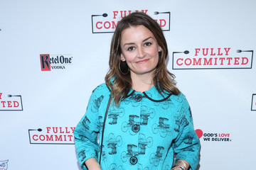 Alison Wright 'Fully Committed' Broadway Opening Night - Arrivals & Curtain Call