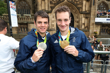 Alistair Brownlee Olympics & Paralympics Team GB - Rio 2016 Victory Parade