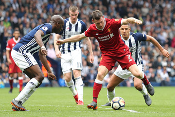 Allan Nyom West Bromwich Albion vs. Liverpool - Premier League