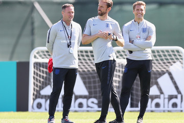 Allan Russell England Media Access - 2018 FIFA World Cup Russia