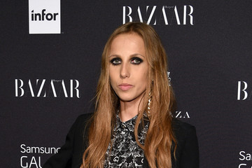 Allegra Versace Samsung GALAXY At Harper's BAZAAR Celebrates Icons By Carine Roitfeld