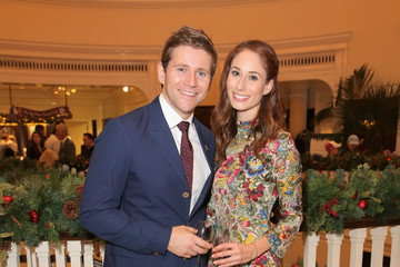 Allen Leech Brooks Brothers Celebrates the Holidays With St. Jude Children's Research Hospital