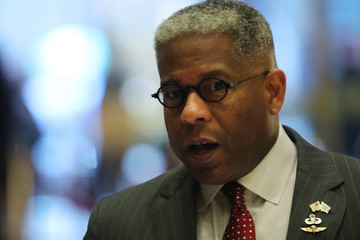 Allen West President-Elect Donald Trump Holds Meetings At Trump Tower