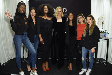 Allie Kaplan Khloe Kardashian and Emma Grede Celebrate the Launch of Good American at Bloomingdale's
