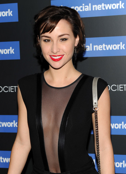Allison Scagliotti Actress Attends Columbia